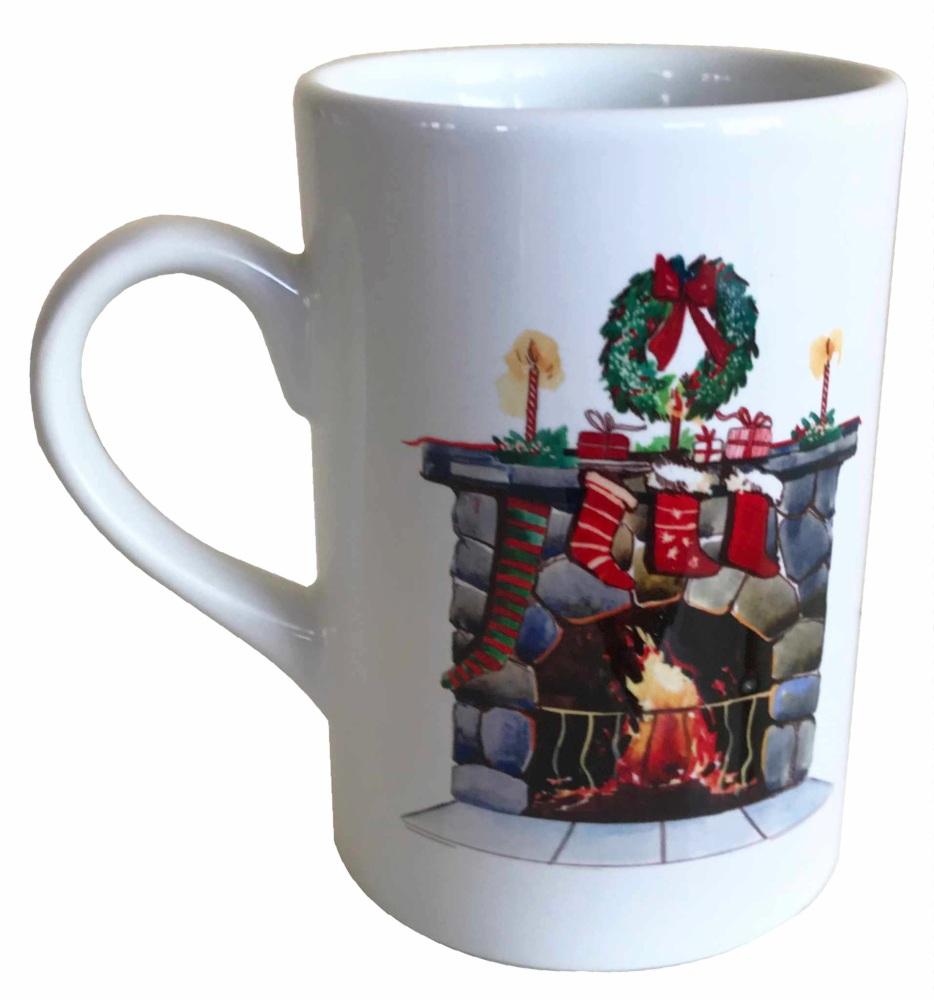 Christmas Hearth - Fun Mug for the Festive Season -  Free UK Delivery