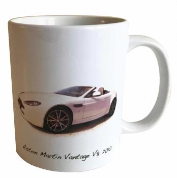 Aston Martin Vantage V8 2010 Ceramic Mug - Ideal Gift for the Sports Car Enthusiast - Free UK Delivery