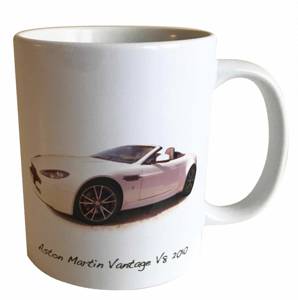 Aston Martin Vantage V8 2010 Ceramic Mug - Ideal Gift for the Sports Car En