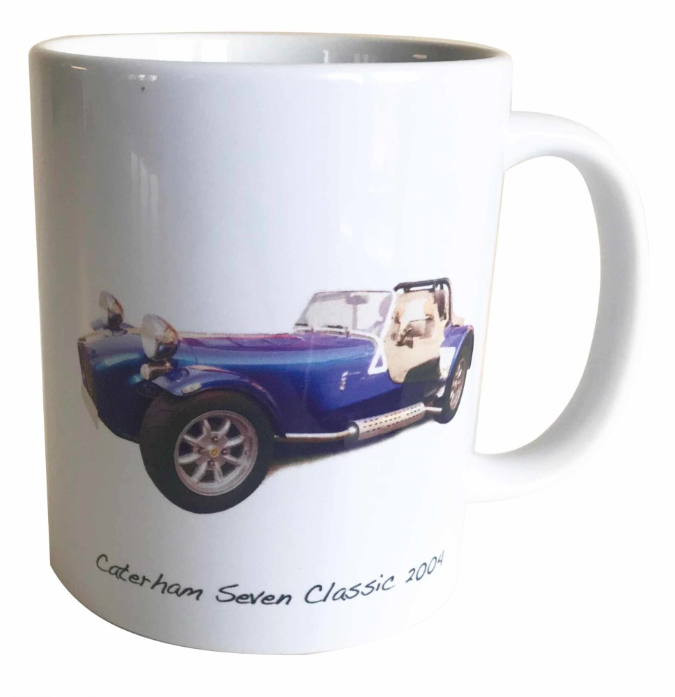 Chatham Seven 2004 Ceramic Mug - Ideal Gift for the Sports Car Enthusiast -