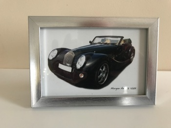 Morgan Aero 8 2008 - Photo (4x6in) in a Silver coloured frame - Free UK Delivery