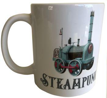 Steam Train - Steampunk - 11oz Ceramic Mug