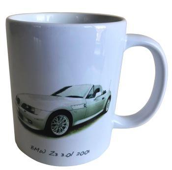 BMW Z3 2001 -  Ceramic Mug - German Car Enthusiast Gift - Free UK Delivery