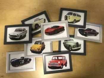 Fifteen 4 x 6in Framed Photographs