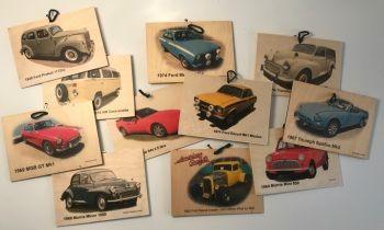 Twenty Four A6 (105 x 148mm) Printed Wood Plaques