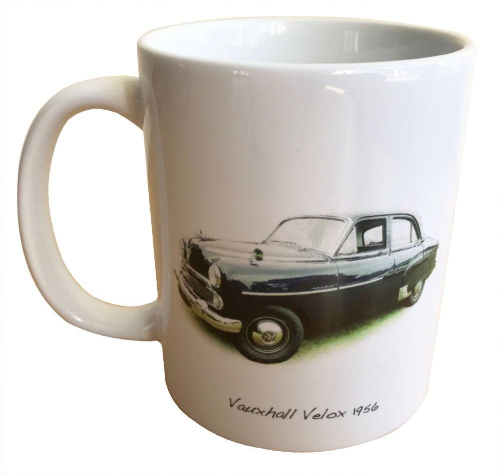 Vauxhall Velox 1956 - Ceramic Mug - Ideal Gift for the Car Enthusiast