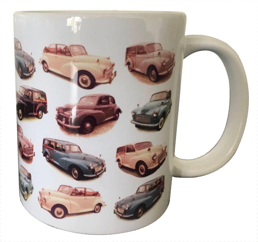 Morris Minor Multi Model Ceramic Mug - Free UK Delivery