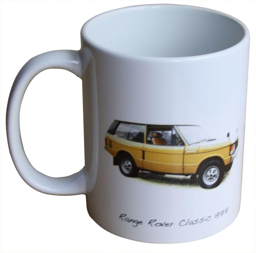 Range Rover Classic 1977 - 11oz  Ceramic Mug - Ideal Gift for the Car Enthu