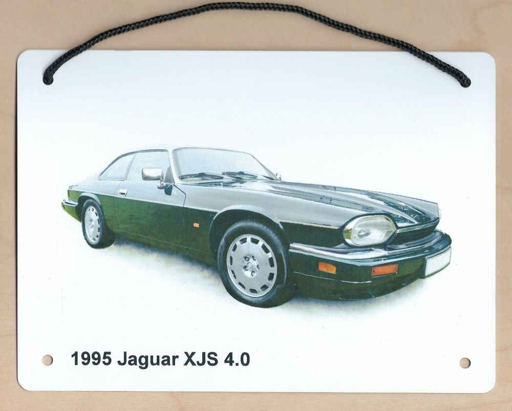 Jaguar XJS 4.0 1995 - Aluminium Plaque (Three sizes available) - Ideal Pres