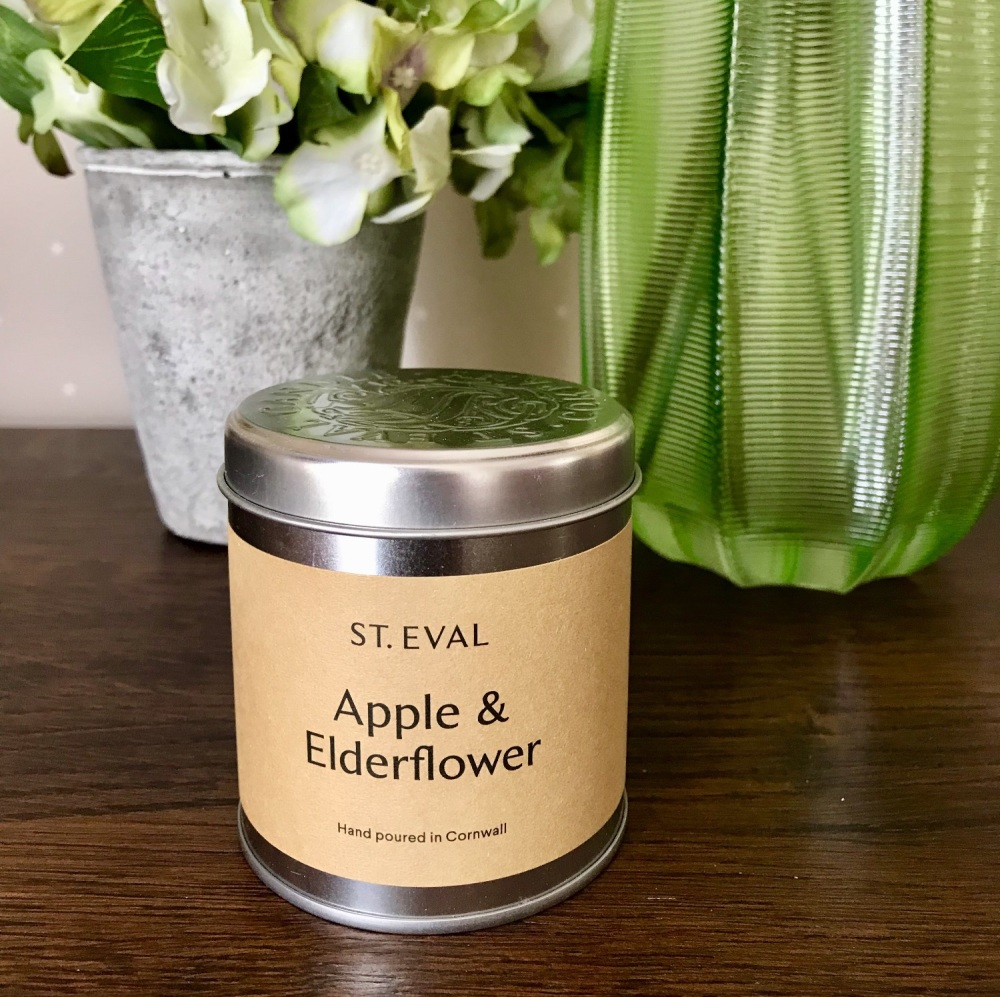 St Eval - Apple & Elderflower Tin