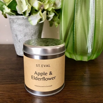 Apple & Elderflower Candle in a Tin