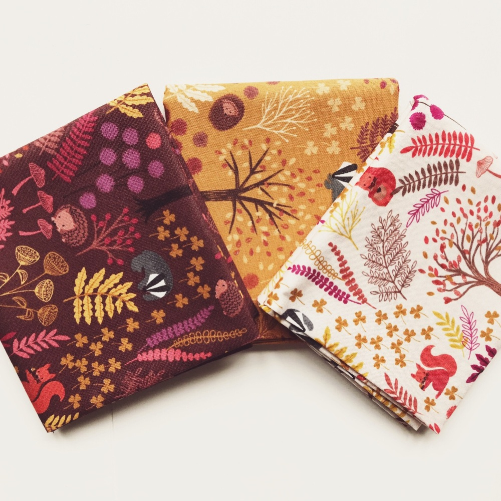 Under the Oak Tree Fat Quarter Bundle