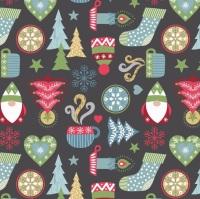 Hygge Christmas on Grey