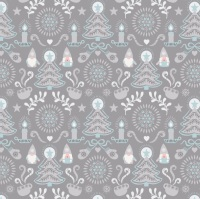 Hygge Christmas - Grey Tonttu