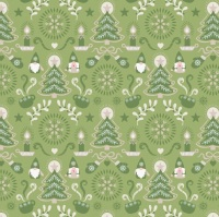 Hygge Christmas - Christmas Green Tonttu