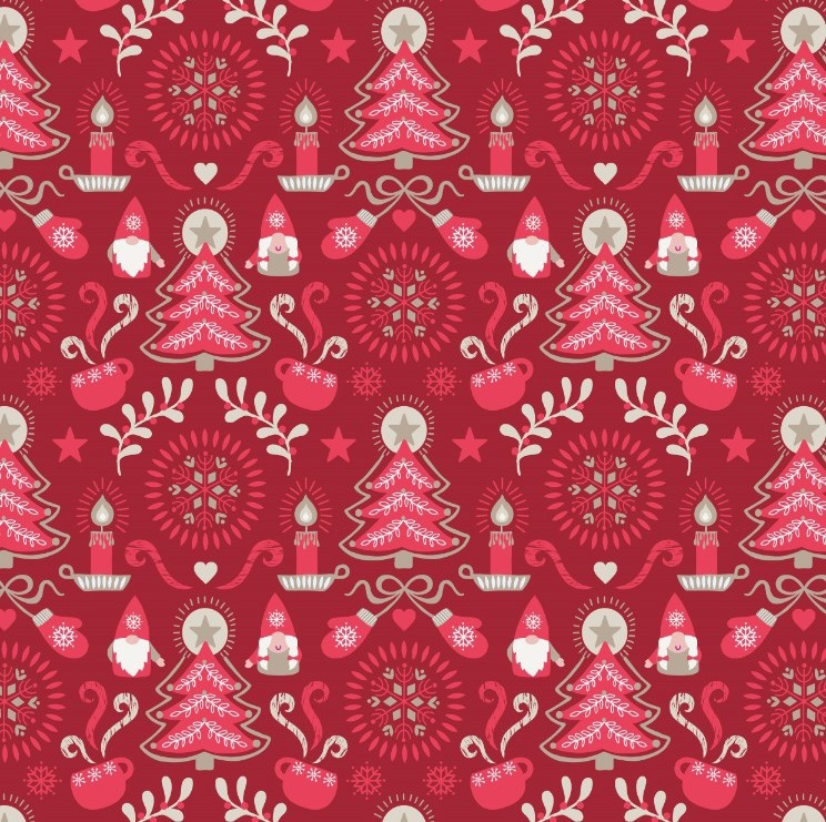 Hygge Christmas - Christmas Red Tonttu