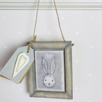 East of India Animal Head Hanging Picture - Hop