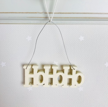 Eat of India - HoHoHo Wooden Hanging Decoration