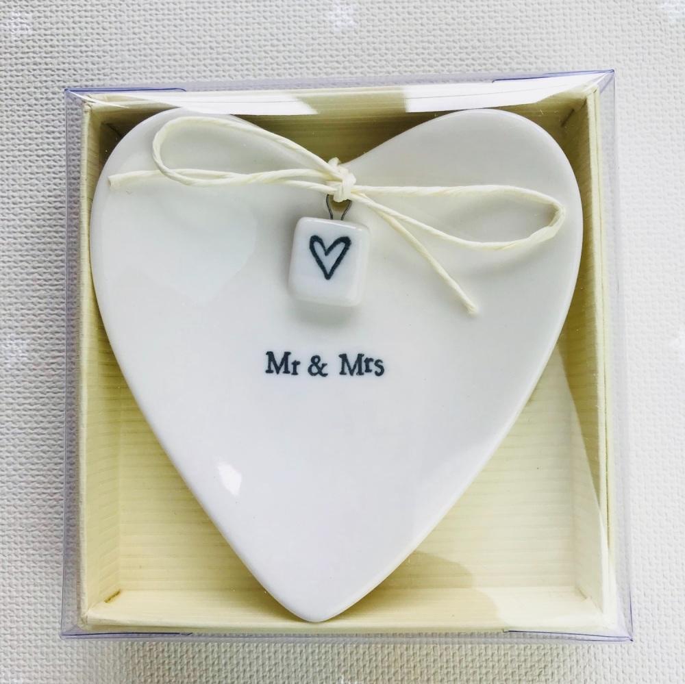 Ring Dish - Mr & Mrs
