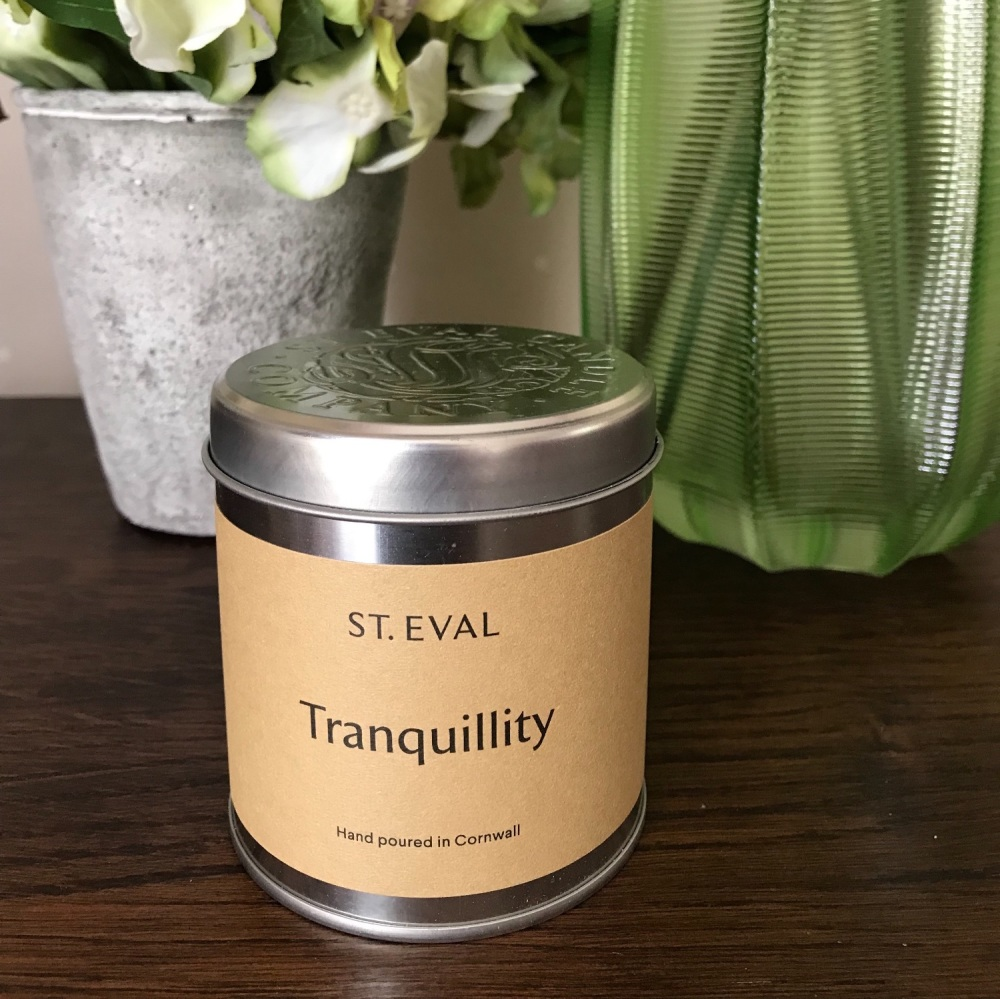 Tranquility Candle in a Tin
