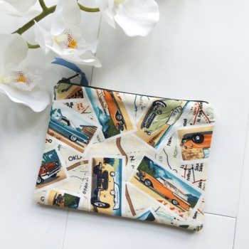 Pencil Case/Zipper Case - Car Design