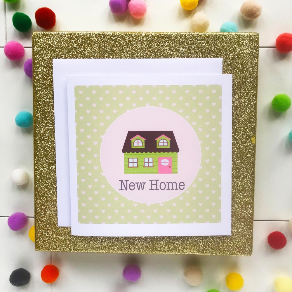New Home Greetings Card - House