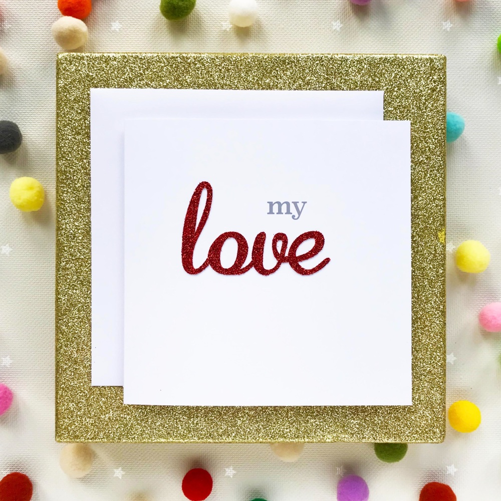 Valentine's Greeting Card - You Rock My World