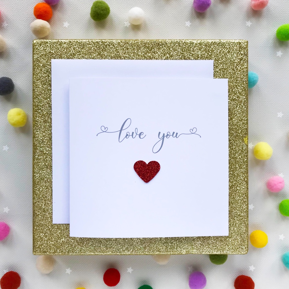 Valentine's Greeting Card - My Love