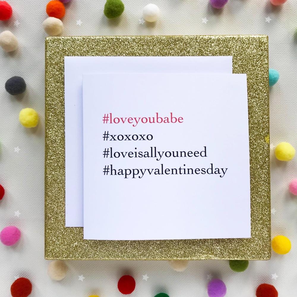 Valentine's Greeting Card - My Love