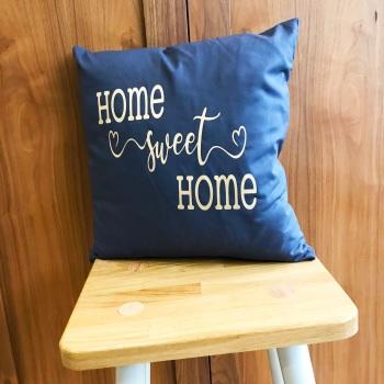 Grey Cushion - Home Sweet Home