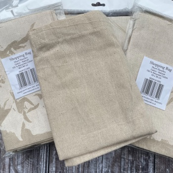 Shopping Bag Blank | Calico | Tote Bag | Short Handles