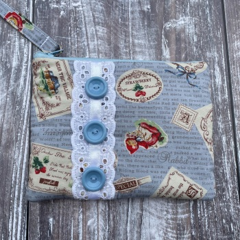 Handmade Purse | Padded | Pretty Fabric | Handmade Pouch