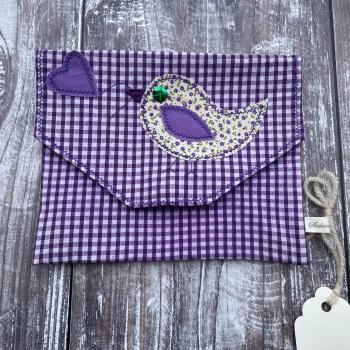 Handmade Pouch | Applique Pouch | Accessory