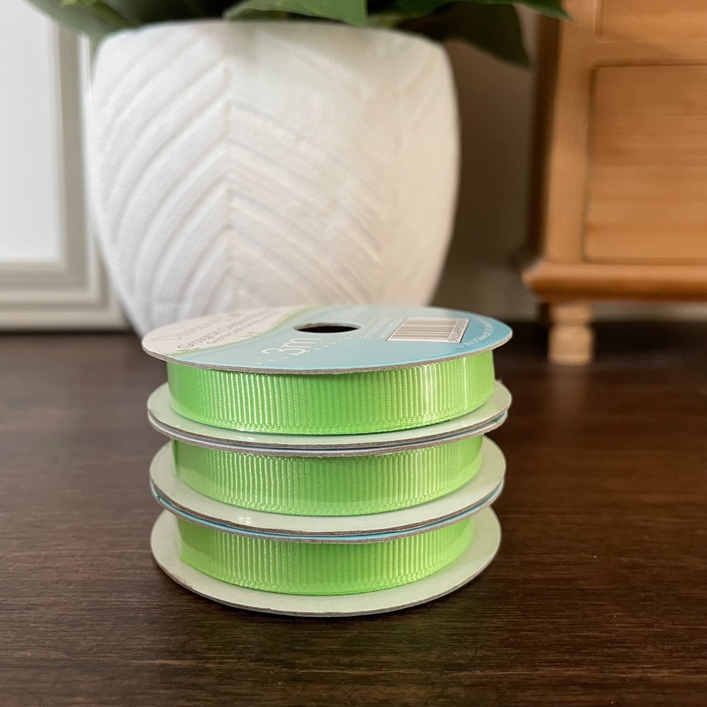 Gingham Ribbon | Lilac | 2m Reel | Crosgrain Creative Ribbons