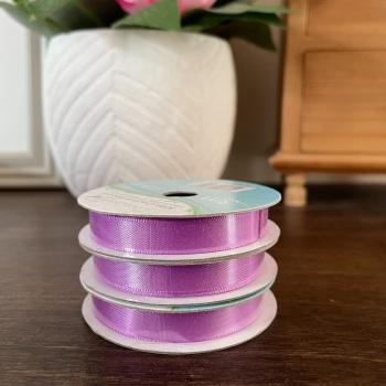 Satin Ribbon | Lilac | 3m Reel | Satin Creative Ribbons