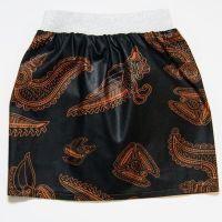 Black & Brown Glitter Skirt (4yrs)