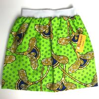 Green Party Skirt (4-5yrs)