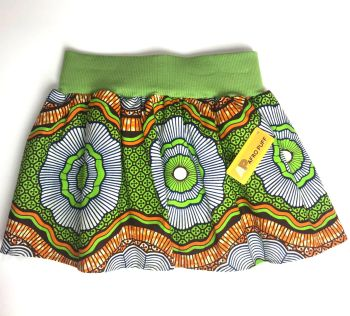 Tulle Skirt - green flower print