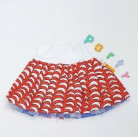 Tulle Skirt  - red and white (3yrs)