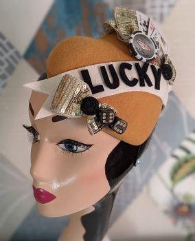 Tattooed Heart Fascinator Lucky (2021 Edition)