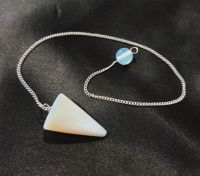 Opalite cone Pendulum