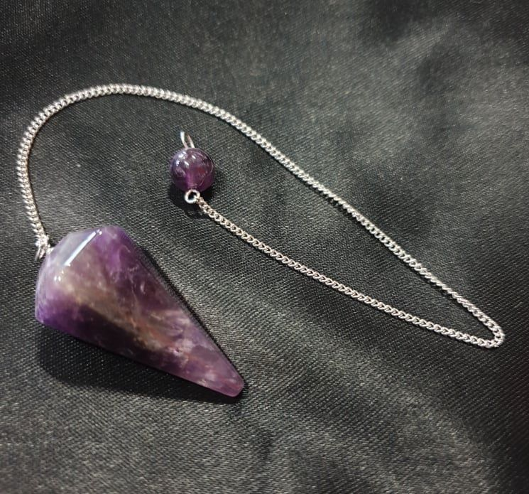 Amethyst Pendulum ~ Faceted