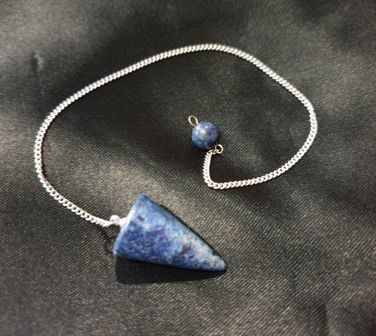 Lapis Lazuli Pendulum ~ Cone
