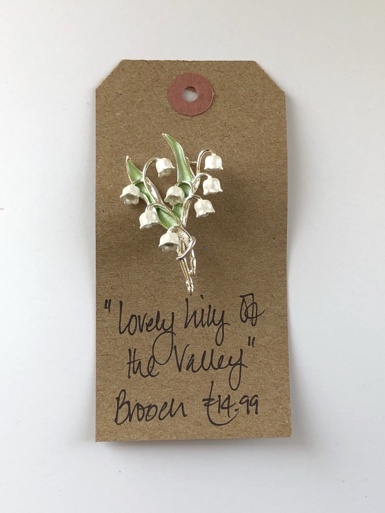 Lilly Of The Valley Brooch