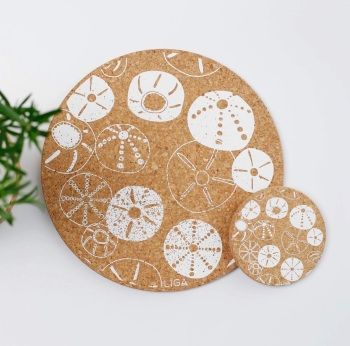 Printed Cork Table Mats and Coasters