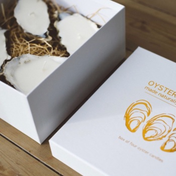 Gift Boxed Oyster Candles