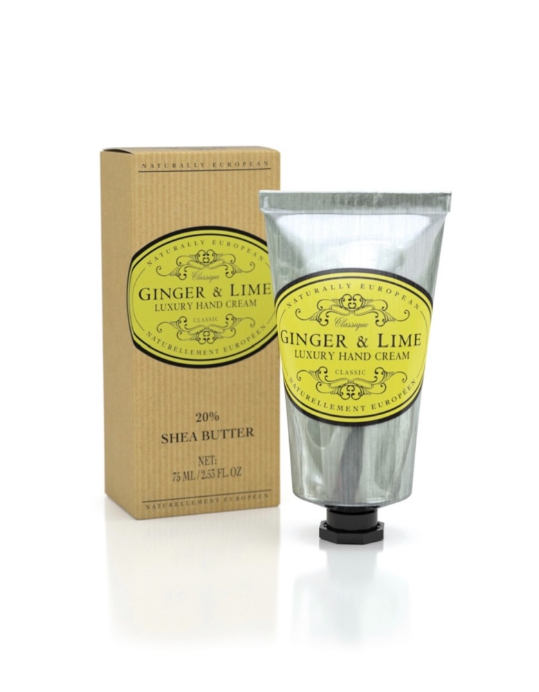 Naturally European Ginger And Lime Hand Cream