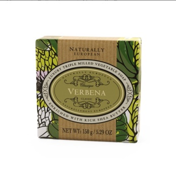 Naturally European Verbena Gift Wrapped Soap