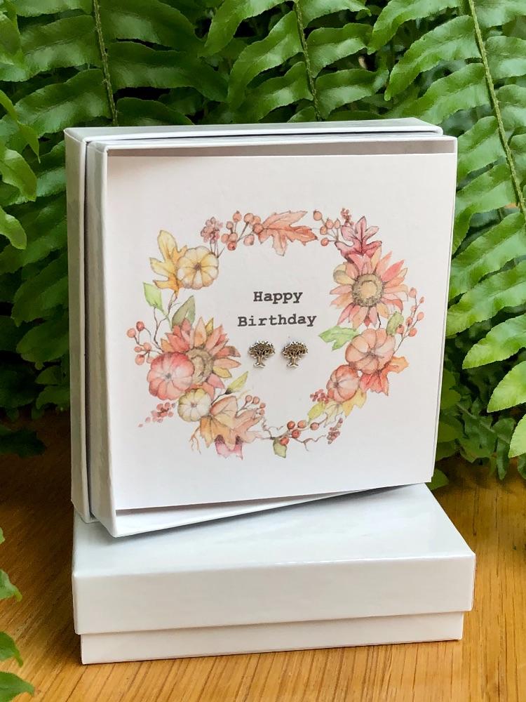 Gift Boxed Silver Earrings