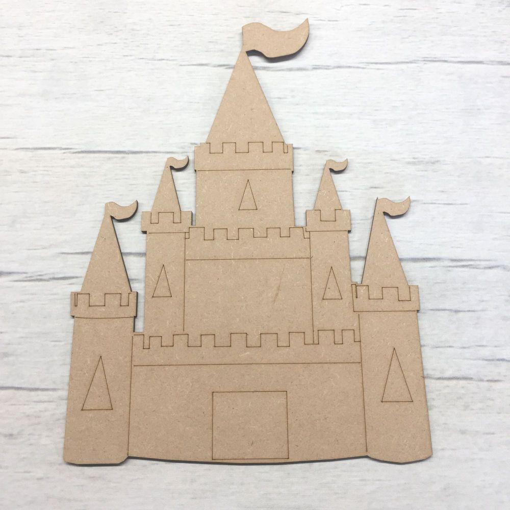 Princess Fairy castle - engraved